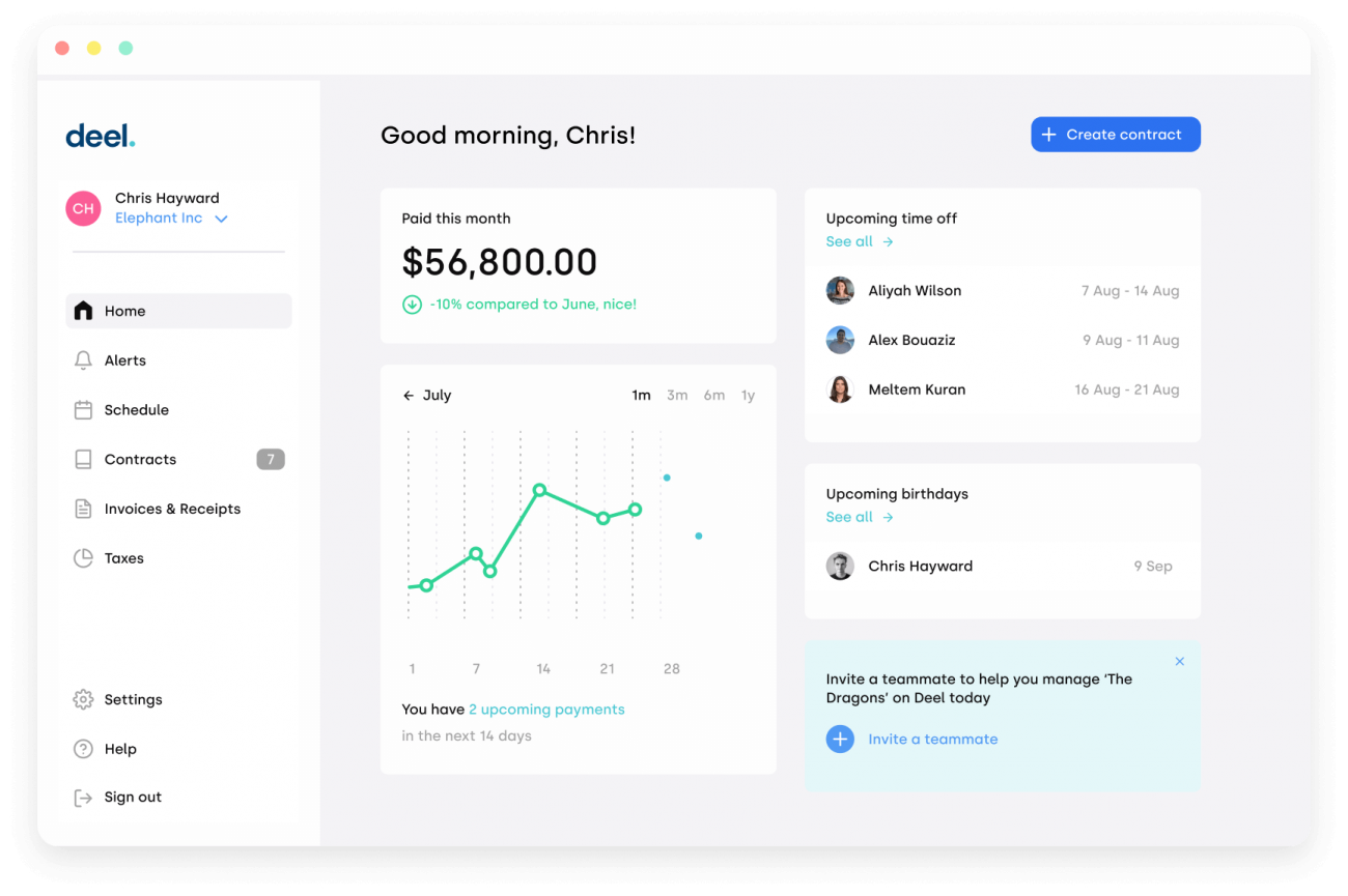 Remote hiring startup Deel raises $156M from Y Combinator, Spark Capital, Roosh Ventures, Andreessen Horowitz, and others; becomes a unicorn